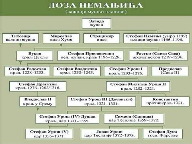 nemanjići, loza nemanjića, akademska srpska asocijacija