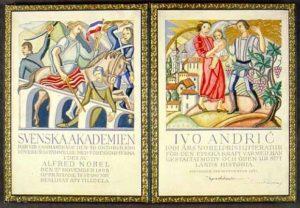Ivo Andrić, Akademska srpska asociajcija