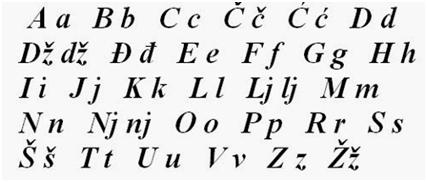 Učenje srpskog kao zavičajnog, onlajn srpski, abeceda, Akademska srpska asoicjacija